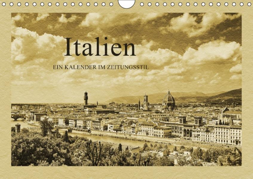Italien / CH-Version (Wandkalender 2017 DIN A4 quer) - Coverbild