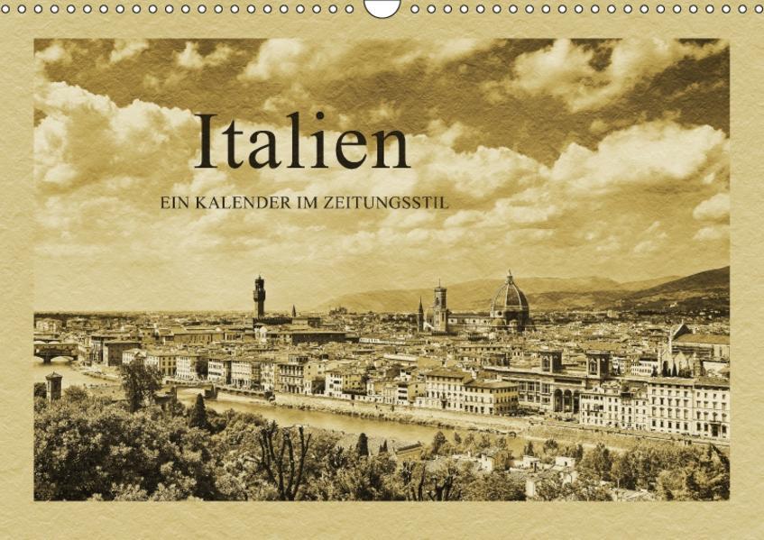 Italien / CH-Version (Wandkalender 2017 DIN A3 quer) - Coverbild