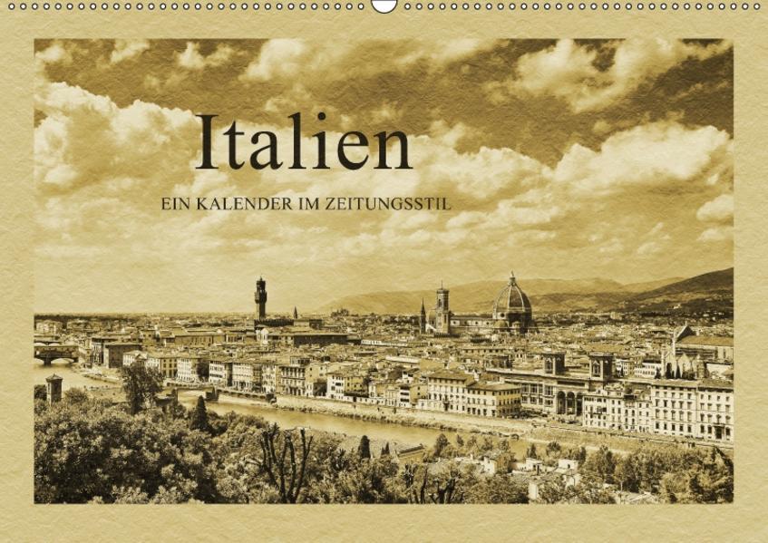 Italien / CH-Version (Wandkalender 2017 DIN A2 quer) - Coverbild