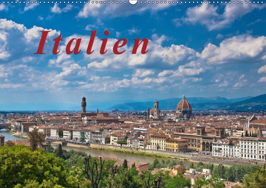 Italien / CH-Version / Geburtstagskalender (Wandkalender 2017 DIN A2 quer) - Coverbild