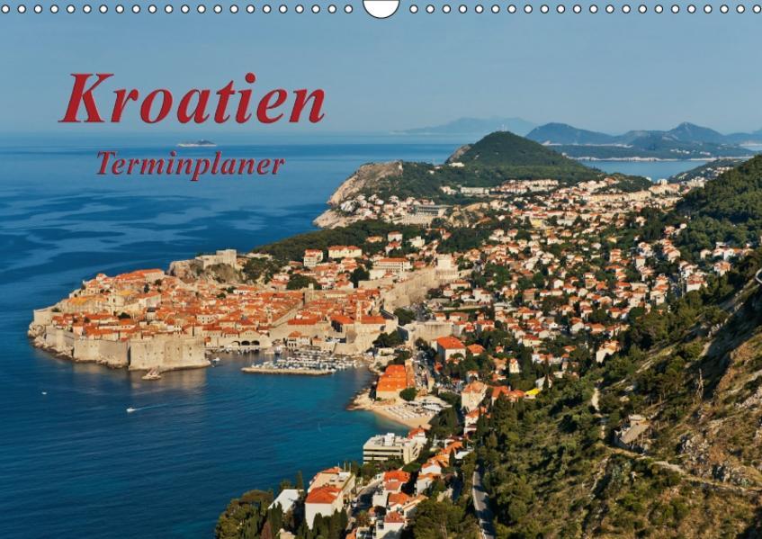 Kroatien / CH-Version / Geburtstagsplaner (Wandkalender 2017 DIN A3 quer) - Coverbild