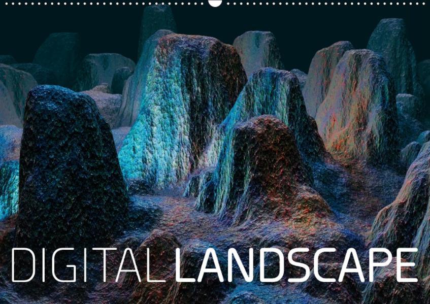 digital landscape (Wandkalender 2017 DIN A2 quer) - Coverbild