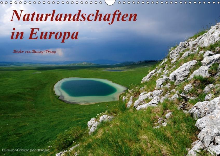 Naturlandschaften in Europa (Wandkalender 2017 DIN A3 quer) - Coverbild