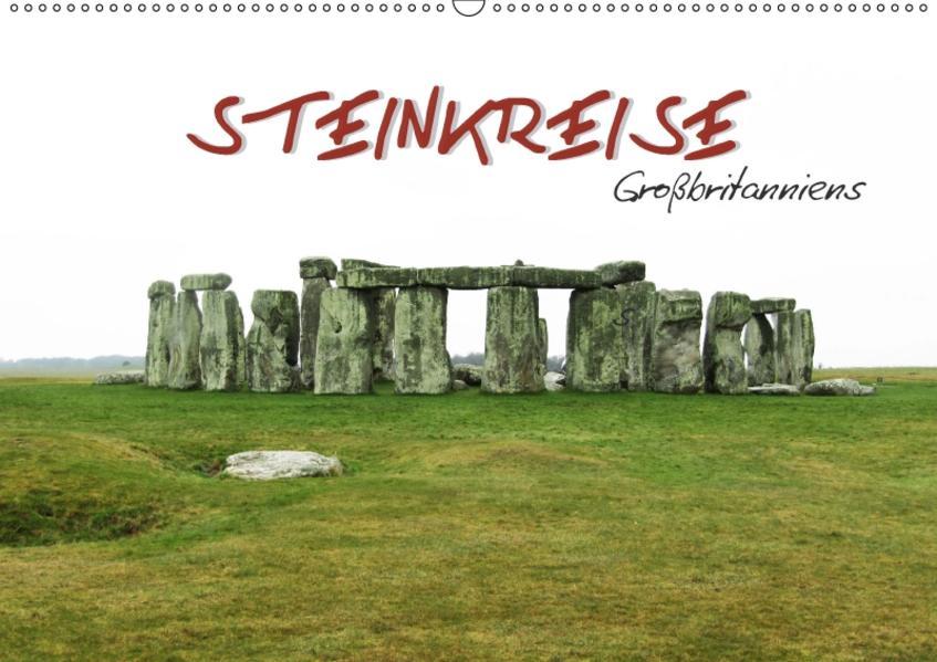 Steinkreise Großbritanniens (Wandkalender 2017 DIN A2 quer) - Coverbild