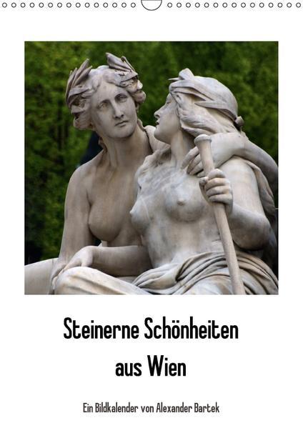 Steinerne Schönheiten aus Wien (Wandkalender 2017 DIN A3 hoch) - Coverbild