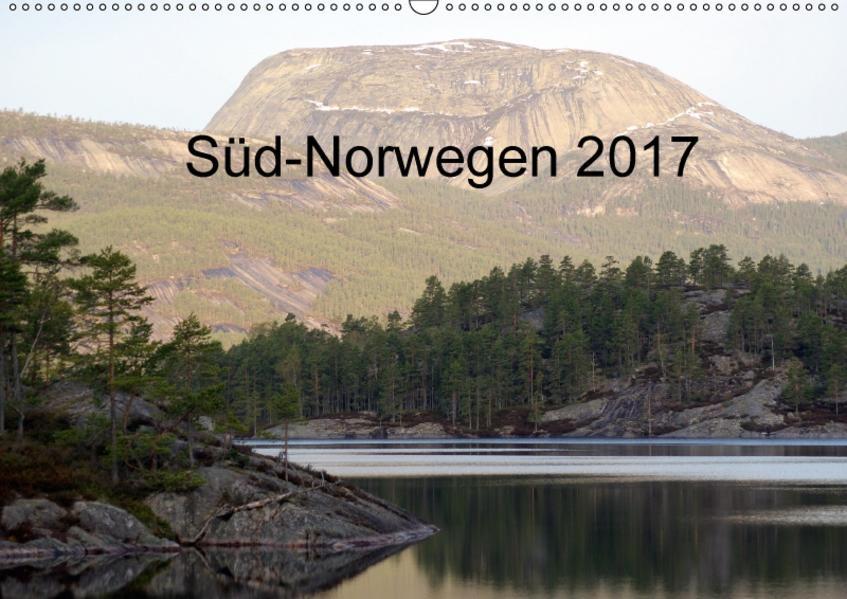 Süd-Norwegen (Wandkalender 2017 DIN A2 quer) - Coverbild