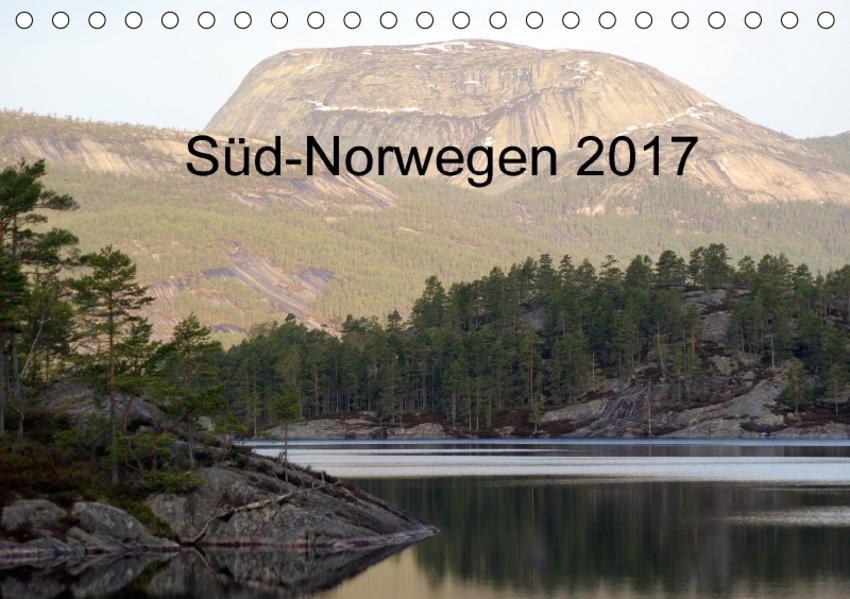Süd-Norwegen (Tischkalender 2017 DIN A5 quer) - Coverbild