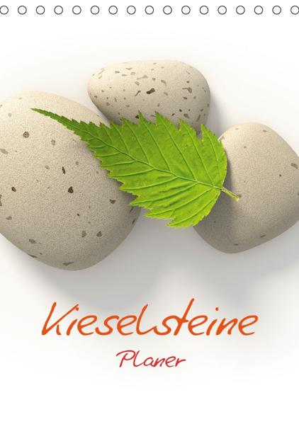 Kieselsteine / Planer (Tischkalender 2017 DIN A5 hoch) - Coverbild