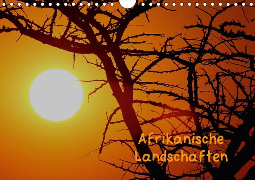 Afrikanische Landschaften (Wandkalender 2017 DIN A4 quer) - Coverbild