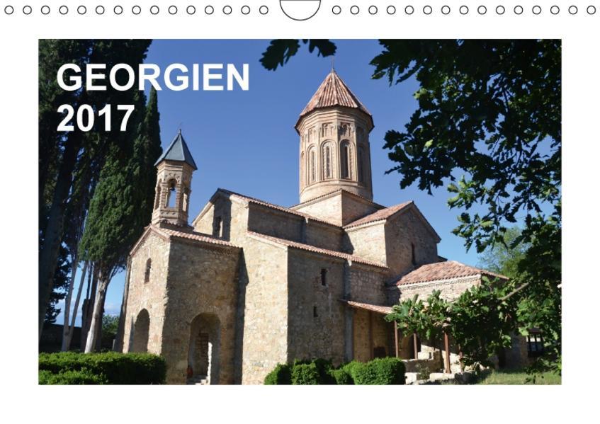 GEORGIEN 2017 (Wandkalender 2017 DIN A4 quer) - Coverbild