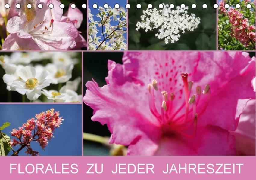 Florales zu jeder Jahreszeit (Tischkalender 2017 DIN A5 quer) - Coverbild