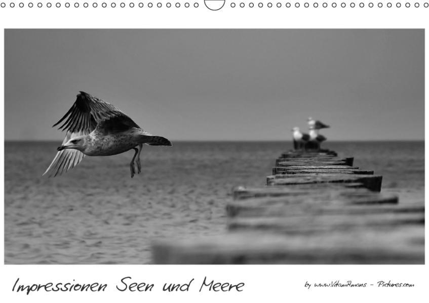 Impressionen Seen und Meere (Wandkalender 2017 DIN A3 quer) - Coverbild
