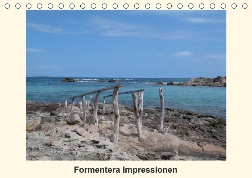 Formentera Impressionen (Tischkalender 2017 DIN A5 quer) - Coverbild