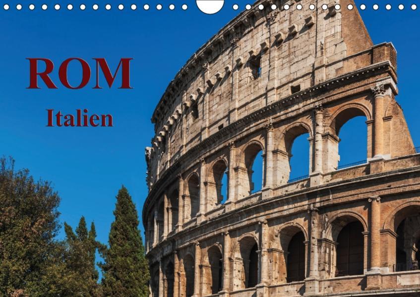 Rom-Italien / CH-Version / Geburtstagskalender (Wandkalender 2017 DIN A4 quer) - Coverbild