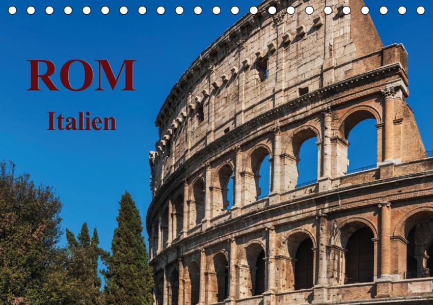 Rom-Italien / CH-Version / Geburtstagskalender (Tischkalender 2017 DIN A5 quer) - Coverbild