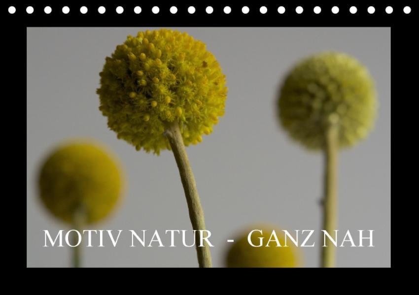 Motiv Natur - Ganz nah (Tischkalender 2017 DIN A5 quer) - Coverbild
