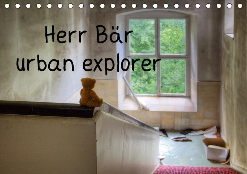 Herr Bär urban explorer (Tischkalender 2017 DIN A5 quer) - Coverbild