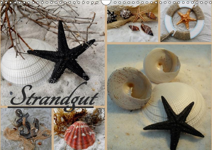 Strandgut (Wandkalender 2017 DIN A3 quer) - Coverbild