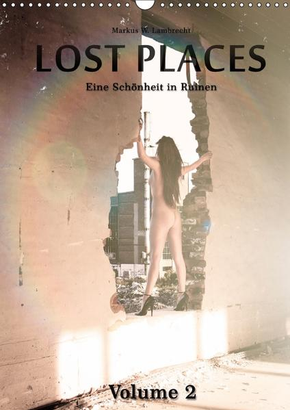 Lost Places Volume 2 (Wandkalender 2017 DIN A3 hoch) - Coverbild
