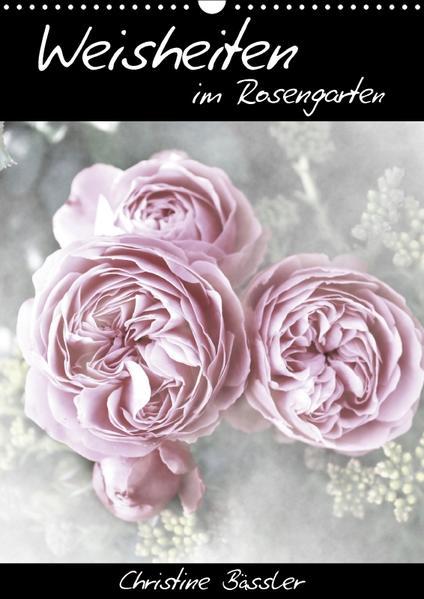 Weisheiten im Rosengarten/CH-Version (Wandkalender 2017 DIN A3 hoch) - Coverbild