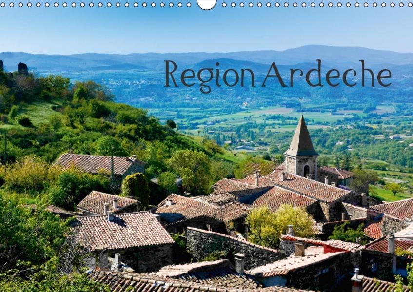 Region Ardeche (Wandkalender 2017 DIN A3 quer) - Coverbild