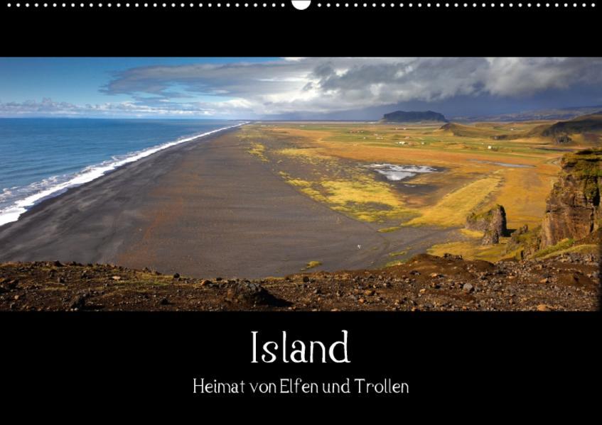 Island - Heimat von Elfen und Trollen (Wandkalender 2017 DIN A2 quer) - Coverbild