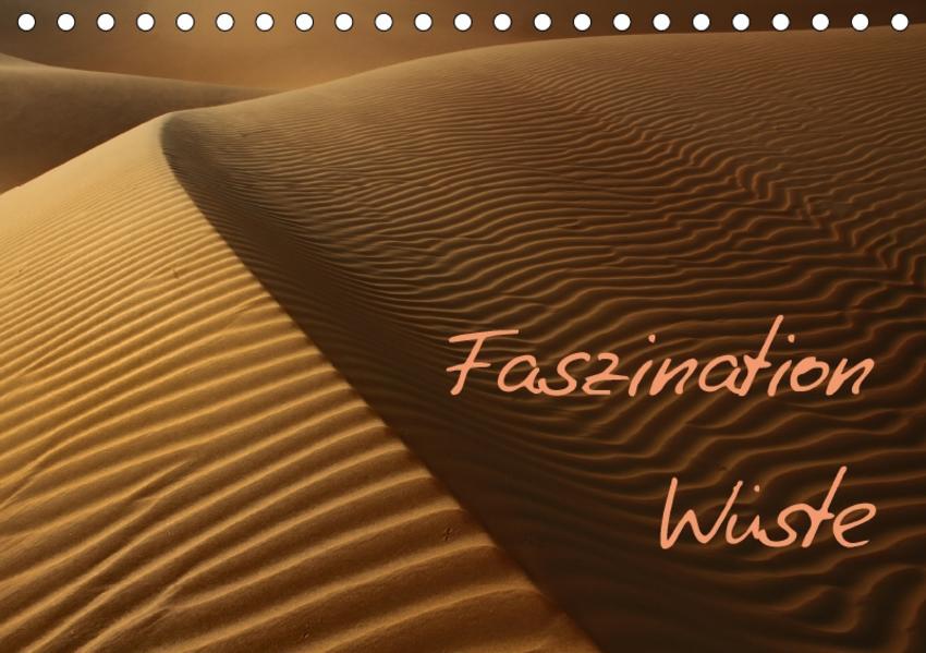 Faszination Wüste (Tischkalender 2017 DIN A5 quer) - Coverbild