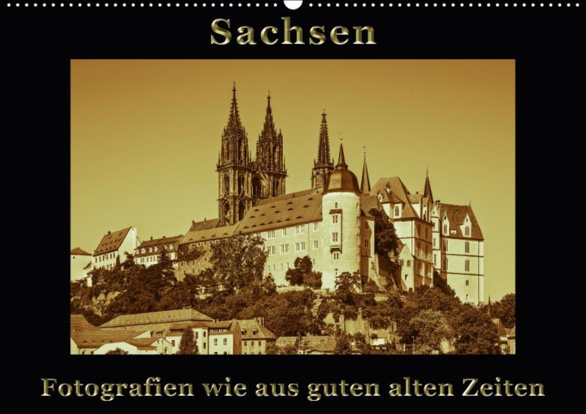 Sachsen / CH-Version (Wandkalender 2017 DIN A2 quer) - Coverbild
