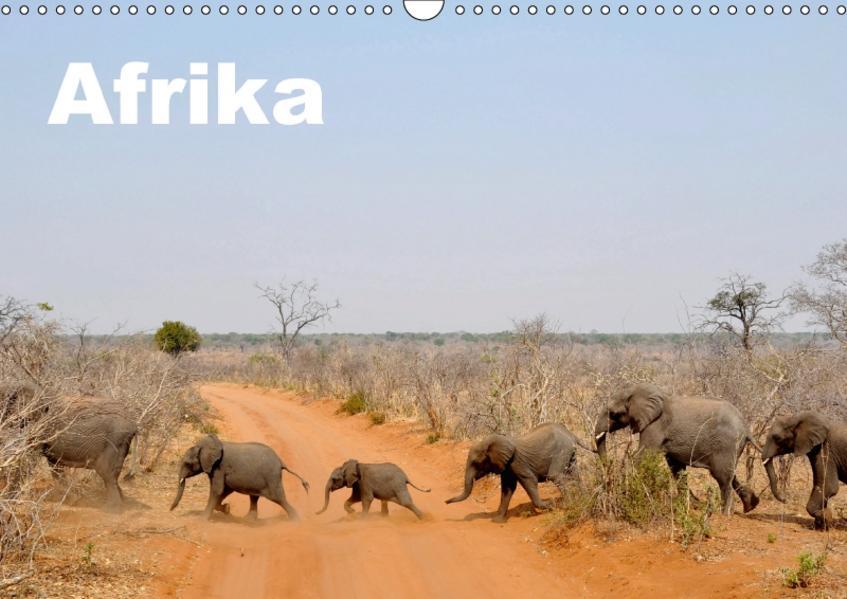 Afrika (Wandkalender 2017 DIN A3 quer) - Coverbild