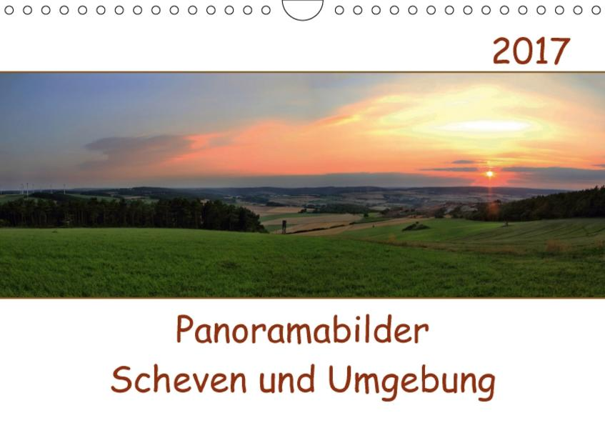Panoramabilder Scheven und Umgebung (Wandkalender 2017 DIN A4 quer) - Coverbild