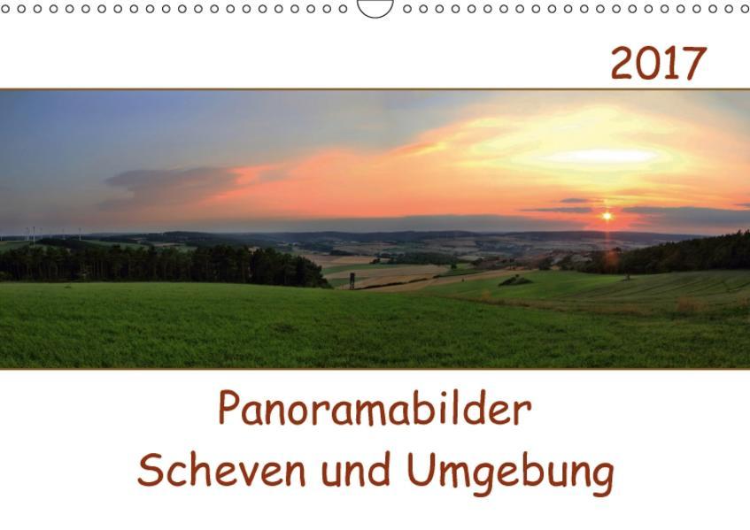 Panoramabilder Scheven und Umgebung (Wandkalender 2017 DIN A3 quer) - Coverbild