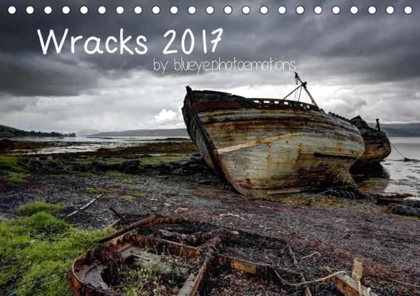 Wracks 2017 (Tischkalender 2017 DIN A5 quer) - Coverbild