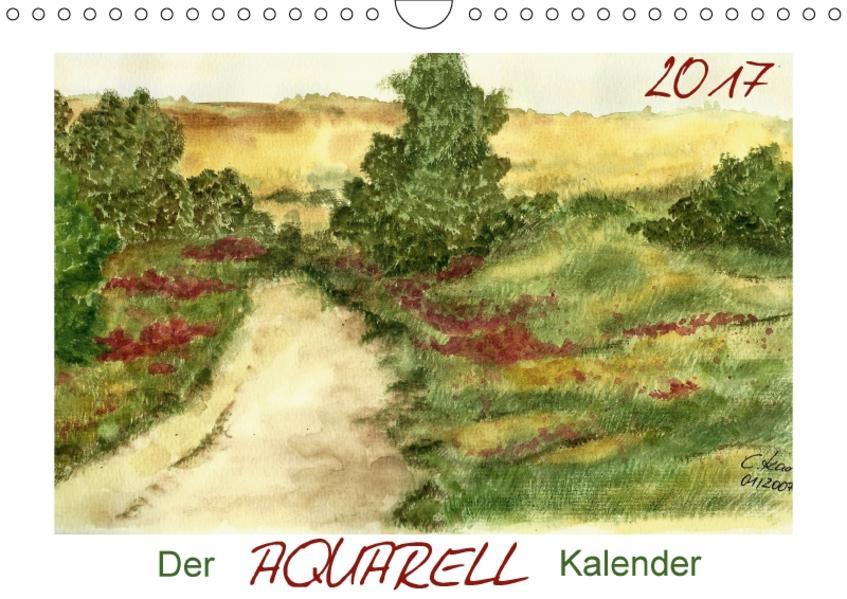 Der AQUARELL-Kalender (Wandkalender 2017 DIN A4 quer) - Coverbild