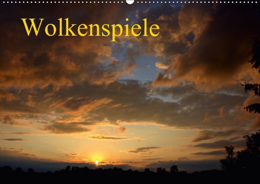 Wolkenspiele / Geburtstagskalender (Wandkalender 2017 DIN A2 quer) - Coverbild