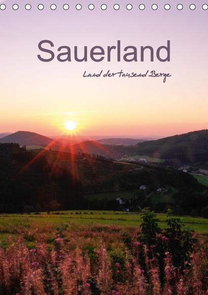 Sauerland - Land der tausend Berge / Familienplaner (Tischkalender 2017 DIN A5 hoch) - Coverbild