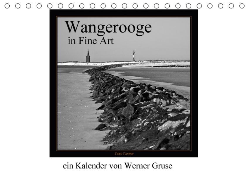 Wangerooge in Fine Art (Tischkalender 2017 DIN A5 quer) - Coverbild