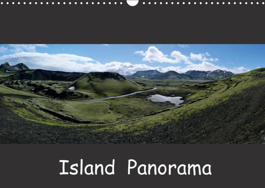 Island Panorama (Wandkalender 2017 DIN A3 quer) - Coverbild