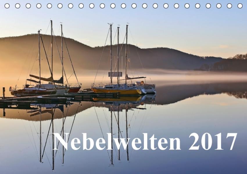 Nebelwelten  2017 (Tischkalender 2017 DIN A5 quer) - Coverbild