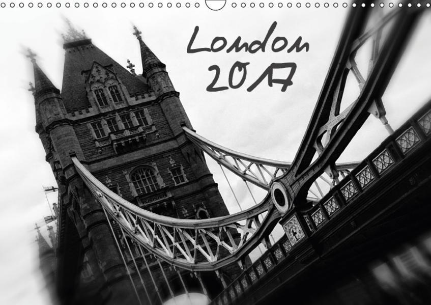 London (Wandkalender 2017 DIN A3 quer) - Coverbild