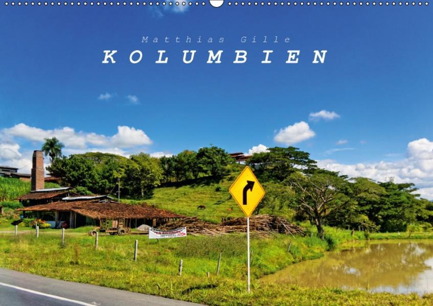 Kolumbien (Wandkalender 2017 DIN A2 quer) - Coverbild