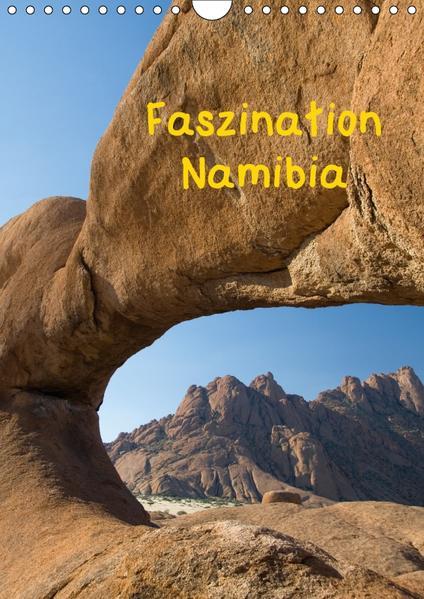 Faszination Namibia (Wandkalender 2017 DIN A4 hoch) - Coverbild
