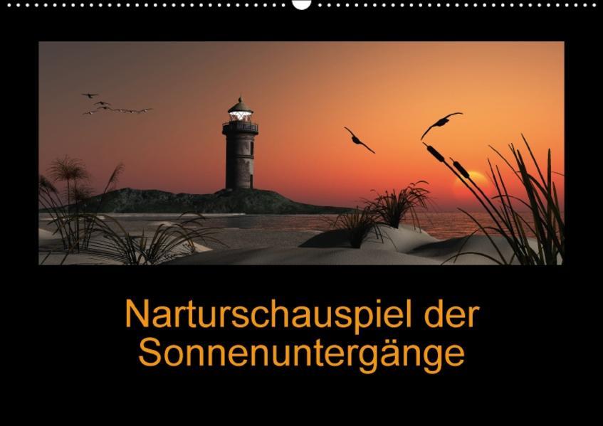Sonnenuntergänge (Wandkalender 2017 DIN A2 quer) - Coverbild