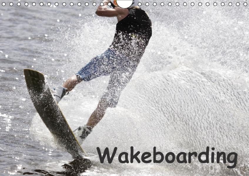 Wakeboarding / CH-Version (Wandkalender 2017 DIN A4 quer) - Coverbild