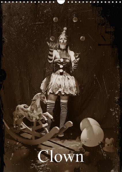 ClownCH-Version  (Wandkalender 2017 DIN A3 hoch) - Coverbild