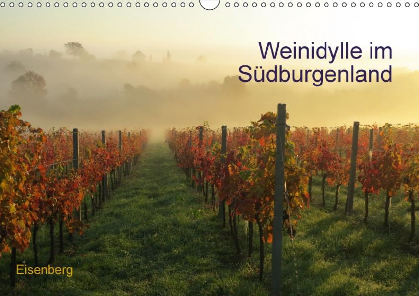 Weinidylle im SüdburgenlandAT-Version  (Wandkalender 2017 DIN A3 quer) - Coverbild