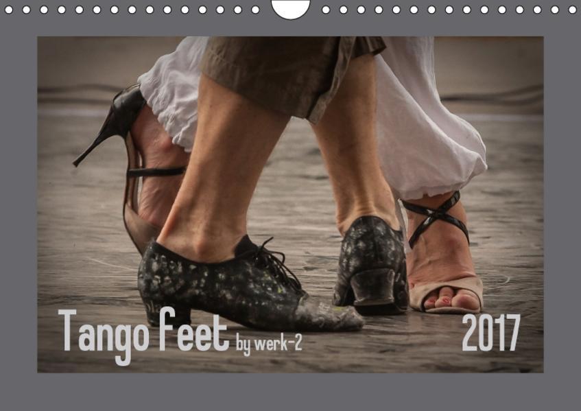 Tango feetAT-Version  (Wandkalender 2017 DIN A4 quer) - Coverbild