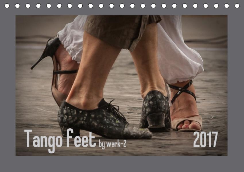 Tango feetAT-Version  (Tischkalender 2017 DIN A5 quer) - Coverbild