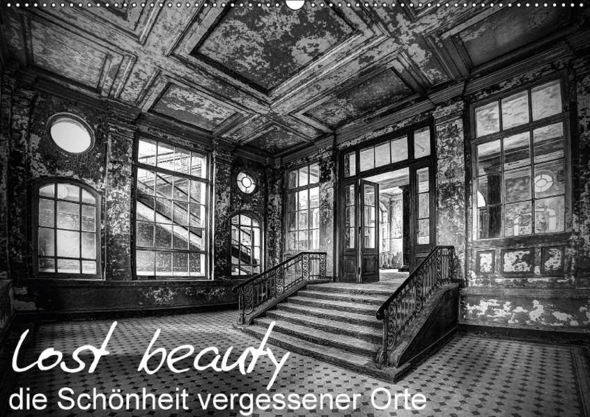 lost beauty (Wandkalender 2017 DIN A2 quer) - Coverbild