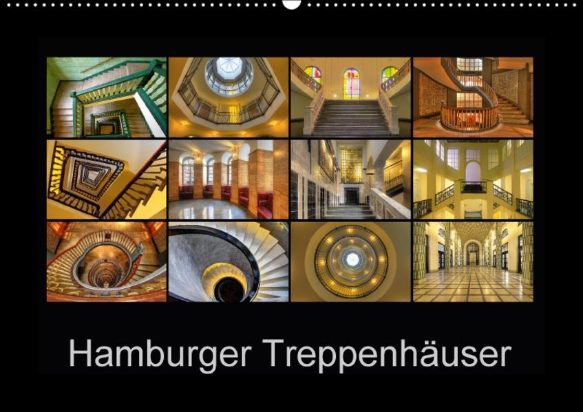 Hamburger Treppenhäuser (Wandkalender 2017 DIN A2 quer) - Coverbild
