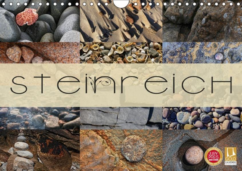 Steinreich (Wandkalender 2017 DIN A4 quer) - Coverbild